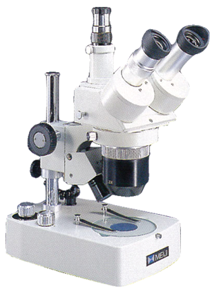 Стереомикроскоп для проверки контактных линз EMT-1