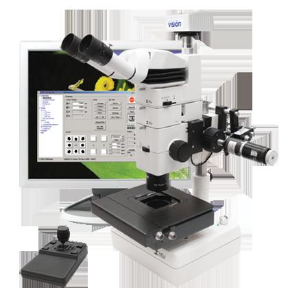 Моторизованный стереомикроскоп RZ (M)