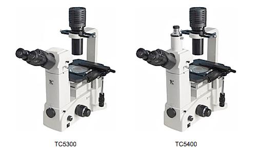 Инвертированные микроскопы с галогеновым и светодиодным осветителем проходящего света <br>Светлое поле / фазовый контраст / флуоресценция Серия ТС5000