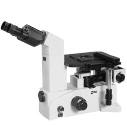 Inverted metallurgical microscope for examination of mounted metallurgical specimens or  for routine quality inspections IM7000
