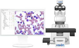 Vision Hema Bone Marrow 8Pro Analysis of bone marrow cells